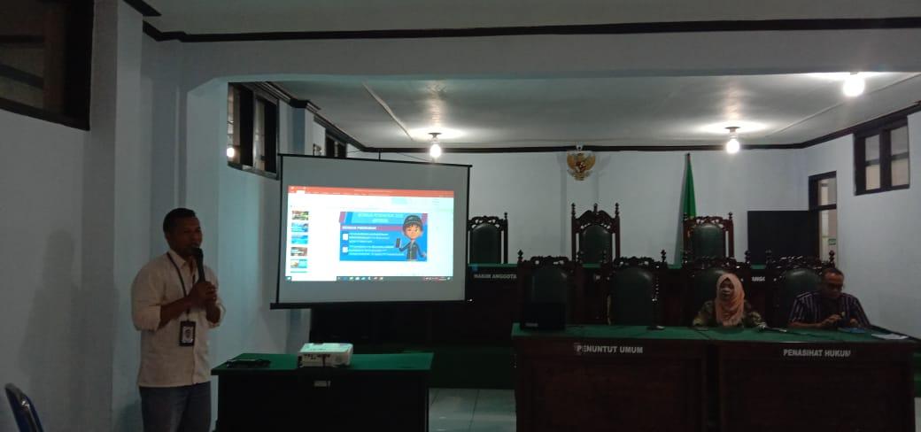 PN Ruteng Mendukung Sensus Penduduk Tahun 2020
