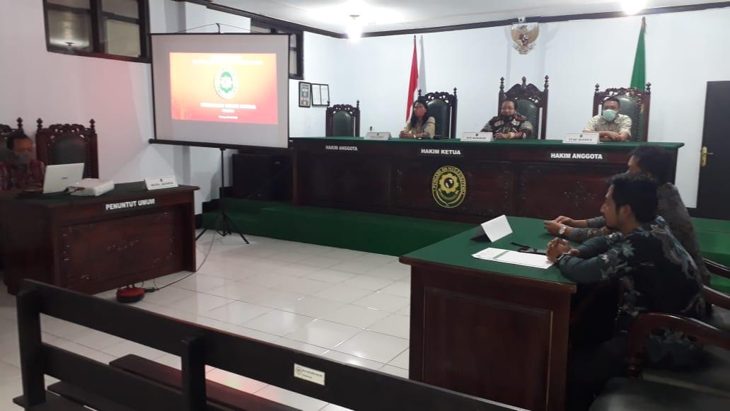 Closing Meeting Audit Internal Akreditasi Penjamin Mutu Pengadilan Negeri Ruteng Kelas II
